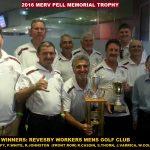 2016 MERV PELL TROPHY WINNERS:TEAM REVESBY