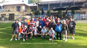 2015-CYPRESS LAKES TOUR